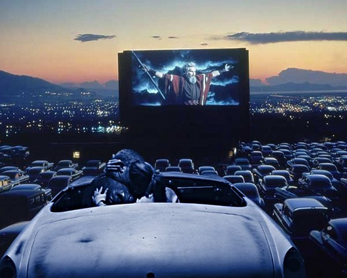 in the movies drivein movie theaters the litter box